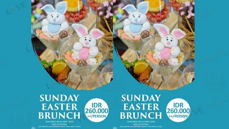 SUNDAY EASTER BRUNCH DI CATAPPA RESTORAN